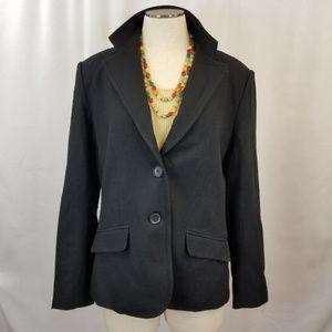 Plus New York and Company black blazer